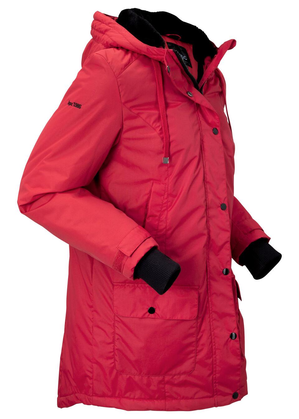 Funkčná outdoorová bunda parka s umelou kožušinkou bonprix