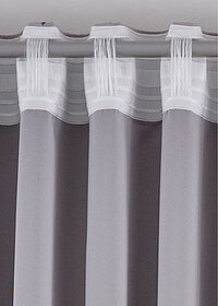 Draperie cu steluţe (1buc.) gri bpc living bonprix collection 3