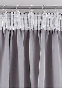 Draperie cu steluţe (1buc.) gri bpc living bonprix collection 1