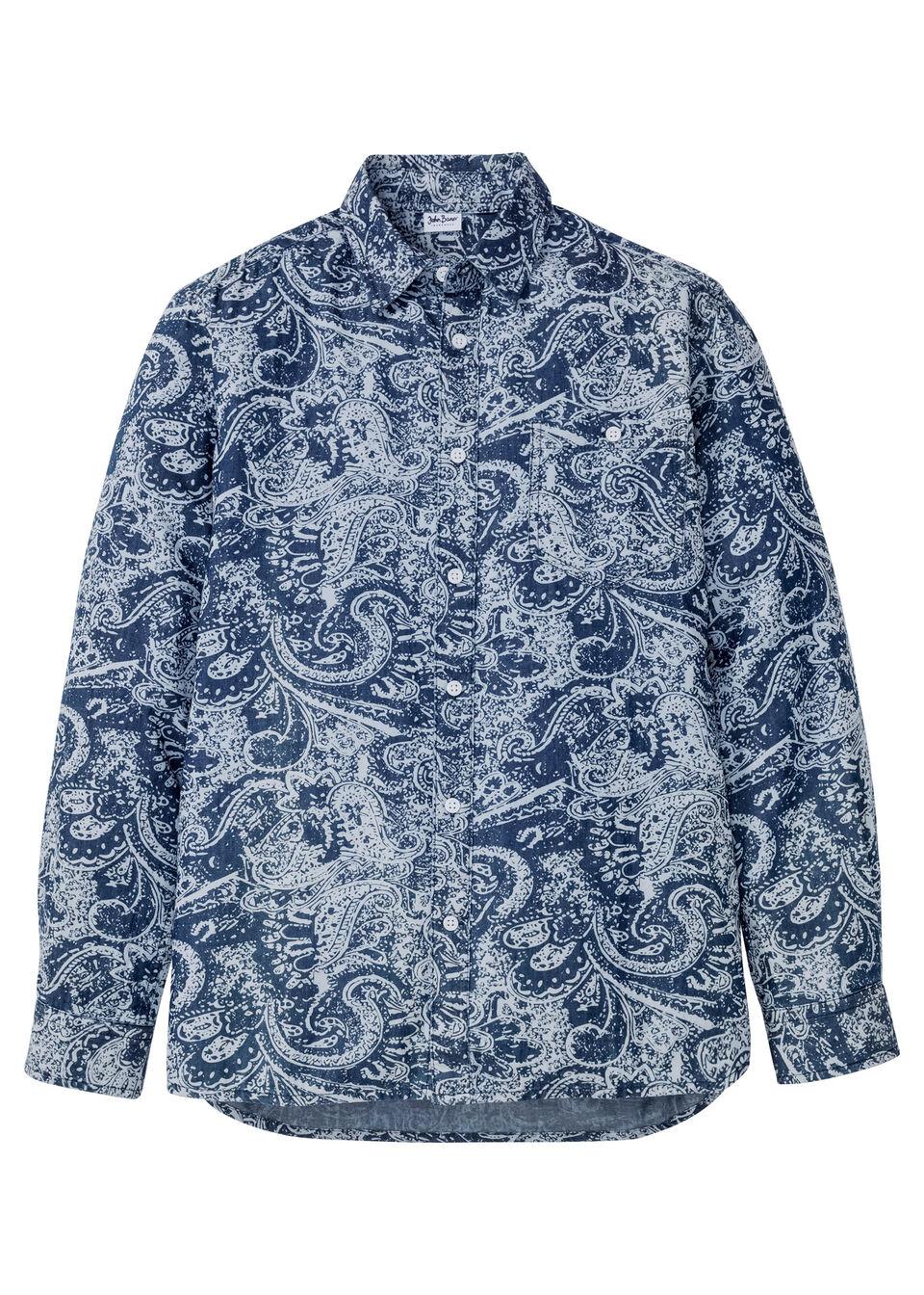 Рубашка джинсовая от bonprix