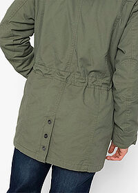 Parka, vatovaná olivová bpc bonprix collection 5