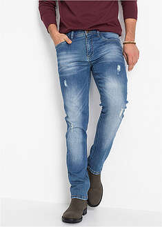 Blugi stretch, Slim Fit, croi drept John Baner JEANSWEAR 17