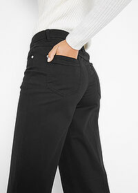 Pantaloni Marlene negru bpc bonprix collection 5