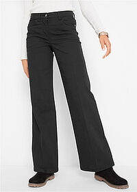 Pantaloni Marlene negru bpc bonprix collection 1