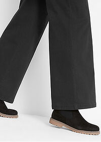 Pantaloni Marlene negru bpc bonprix collection 4
