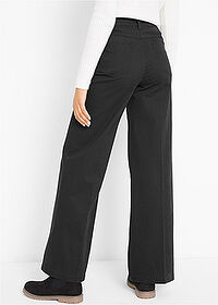 Pantaloni Marlene negru bpc bonprix collection 2