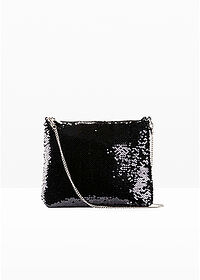 Gentuţă Crossbody negru/argintiu bpc bonprix collection 1