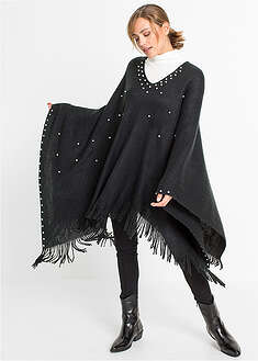 Poncho z perełkami bpc bonprix collection 57
