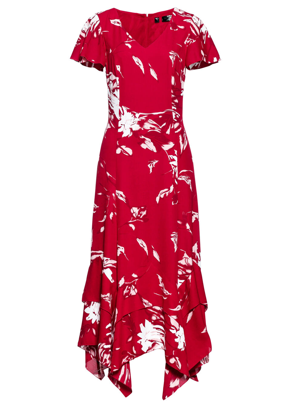 Платье с цветочным принтом от bonprix