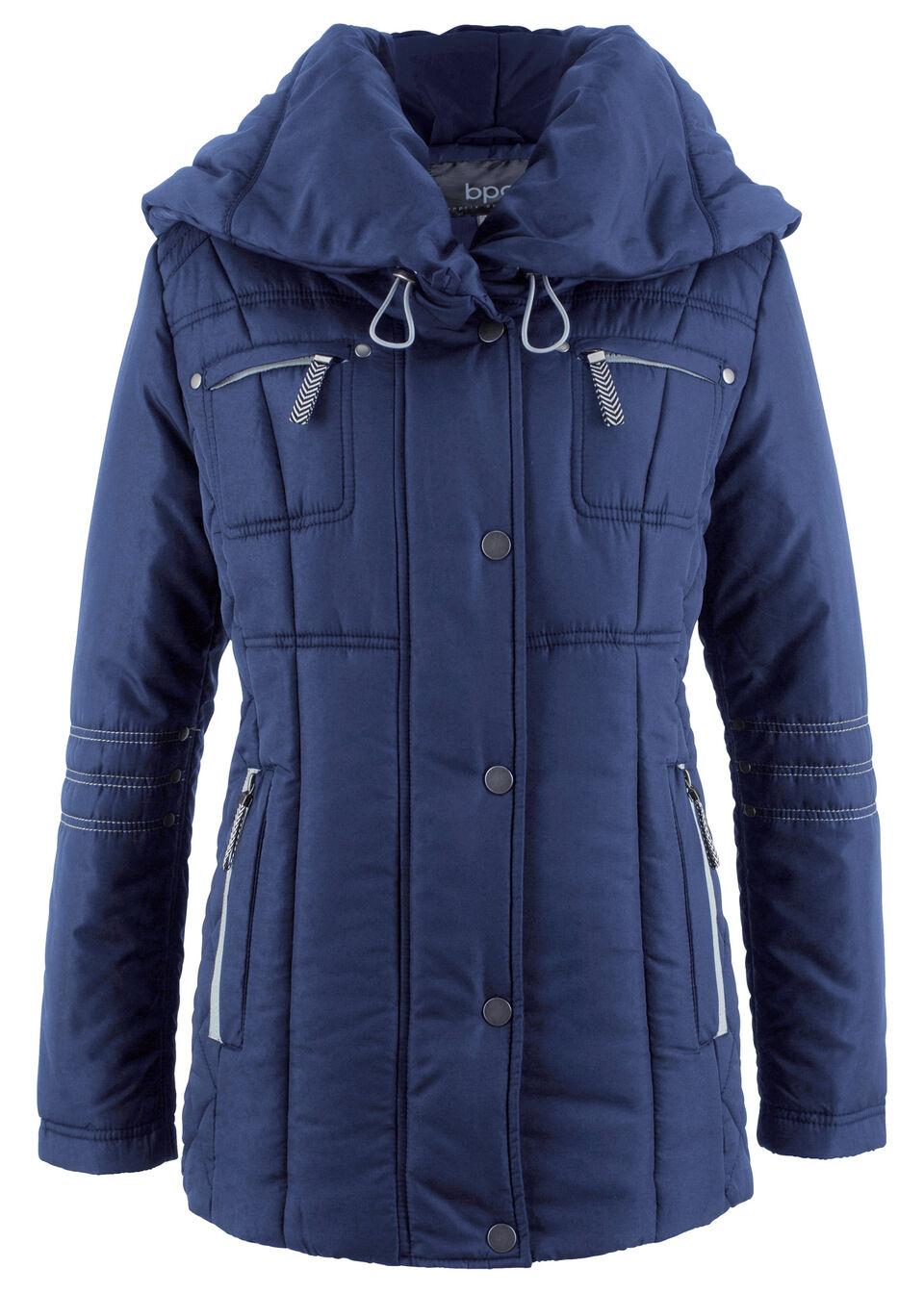 Куртка с большим воротником от bonprix
