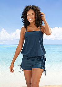 Top tankini oversize ciemnoniebieski bpc bonprix collection 1