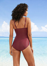 Costum baie shape, nivel 3 lila bpc bonprix collection 2