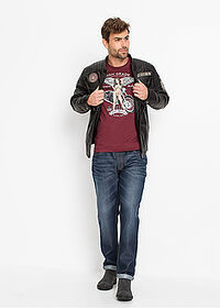 Blugi loose fit marin denim John Baner JEANSWEAR 3