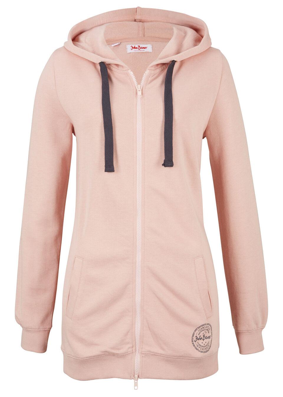 Удлиненная трикотажная куртка от bonprix