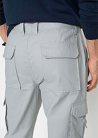 Pantaloni Cargo cu teflon, Regular Fit gri bpc selection 5