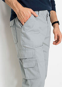 Pantaloni Cargo cu teflon, Regular Fit gri bpc selection 4