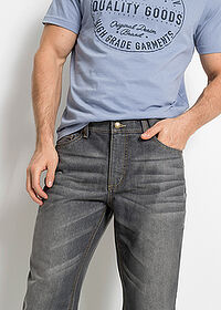 Regular Fit farmer, Straight szürke John Baner JEANSWEAR 4