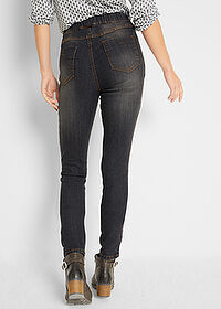 Blugi jeggings confort-stretch negru John Baner JEANSWEAR 2