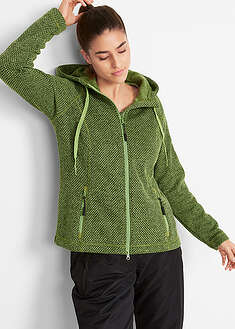 Jachetă fleece tricotat bpc bonprix collection 43