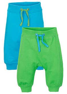 Pantaloni bebe (2buc/pac), bumbac ecologic bpc bonprix collection 40