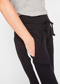 Pantaloni 3/4 sport , nivel 1 negru bpc bonprix collection 5