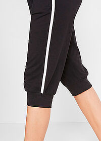 Pantaloni 3/4 sport , nivel 1 negru bpc bonprix collection 4