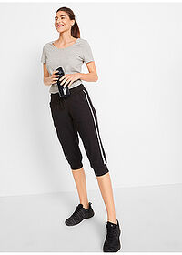Pantaloni 3/4 sport , nivel 1 negru bpc bonprix collection 3