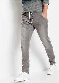 Jeans regular fit, tapered gri denim deschis RAINBOW 1
