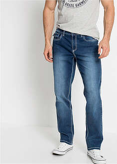 Strečové džínsy Regular Fit Straight-John Baner JEANSWEAR