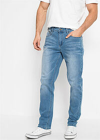 Regular Fit multi-sztreccsfarmer, Tapered kék koptatott John Baner JEANSWEAR 1