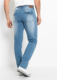 Regular Fit multi-sztreccsfarmer, Tapered kék koptatott John Baner JEANSWEAR 2