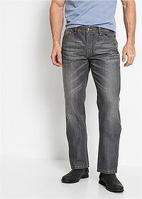 Dżinsy Regular Fit Straight szary John Baner JEANSWEAR 1