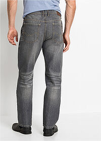 Dżinsy Regular Fit Straight szary John Baner JEANSWEAR 2