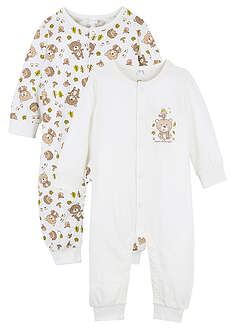 Costum bebe (2buc/pac), bumbac organic-bpc bonprix collection