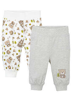 Pantaloni bebe (2buc/pac), eco bpc bonprix collection 10