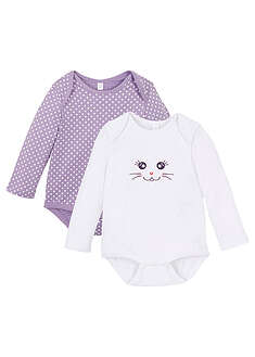Body bebe (2buc/pac), bumbac ecologic-bpc bonprix collection