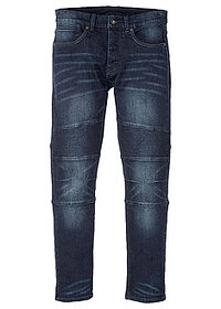 Dżinsy ze stretchem Slim Fit Straight ciemny denim RAINBOW 0