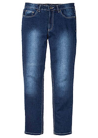 Blugi stretch Slim Fit, drepţi albastru denim RAINBOW 0