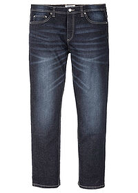 Blugi stretch, Regular Fit, drepţi denim închis John Baner JEANSWEAR 0