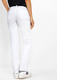 Pantaloni stretch alb bpc selection 2