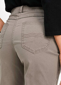 Pantaloni stretch gri-bej bpc selection 4
