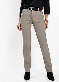 Pantaloni stretch gri-bej bpc selection 1