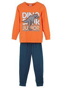Pijama (set/2piese) oranj-marin bpc bonprix collection 0