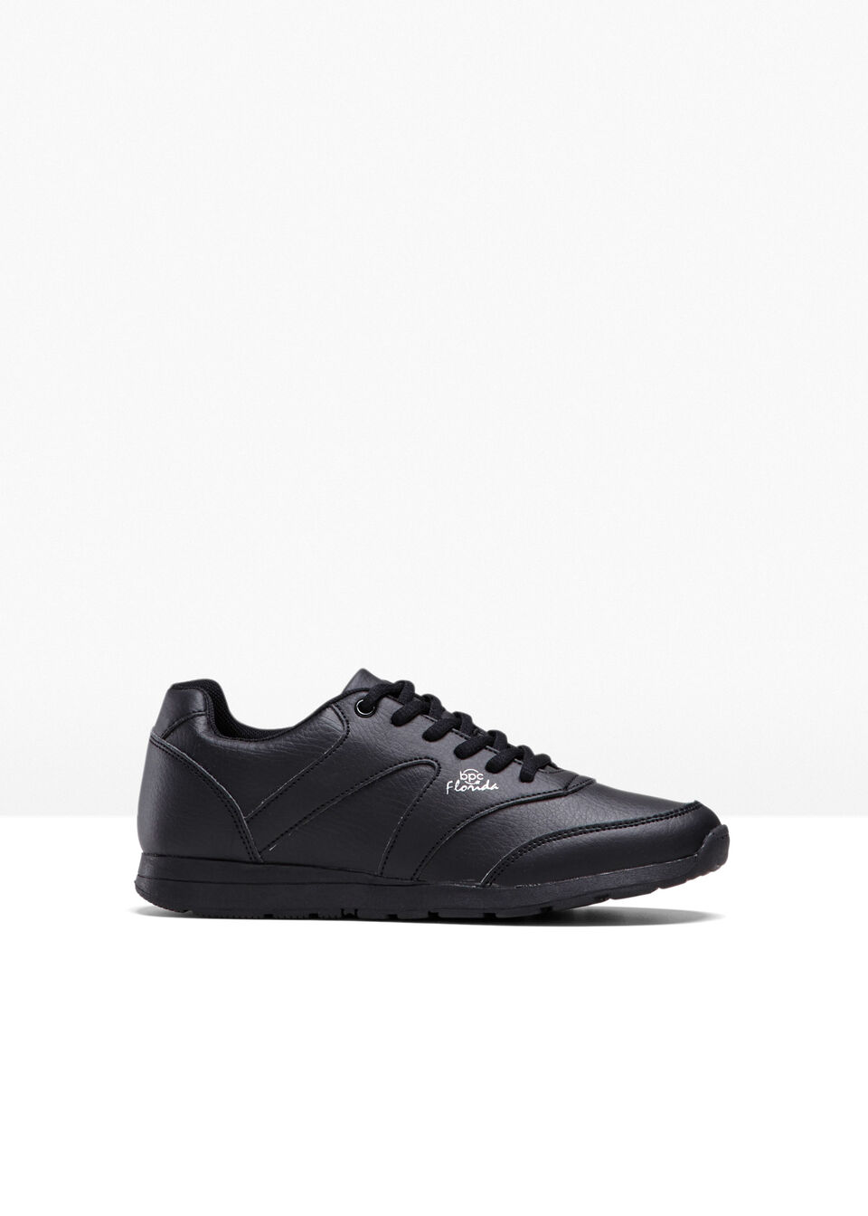 Sneakersy bonprix czarny