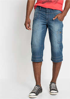 3/4-ové džínsy Regular Fit Straight John Baner JEANSWEAR 5