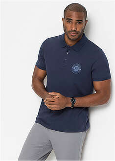 Tricou polo cu print-bpc bonprix collection
