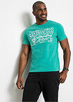 T-shirt z nadrukiem zielony oceaniczny bpc bonprix collection 3