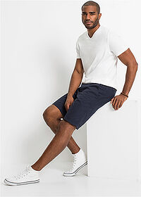 Bermudy chino Regular Fit tmavomodrá bpc bonprix collection 3