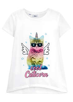 Tricou fete cu print fotografic bpc bonprix collection 18