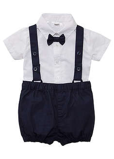 Cămaşă, pantaloni, papion baby (set/3piese)-bpc bonprix collection